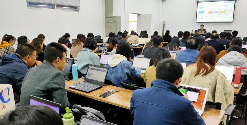 【新闻】中索平台在山东科技职业学院举办培训会